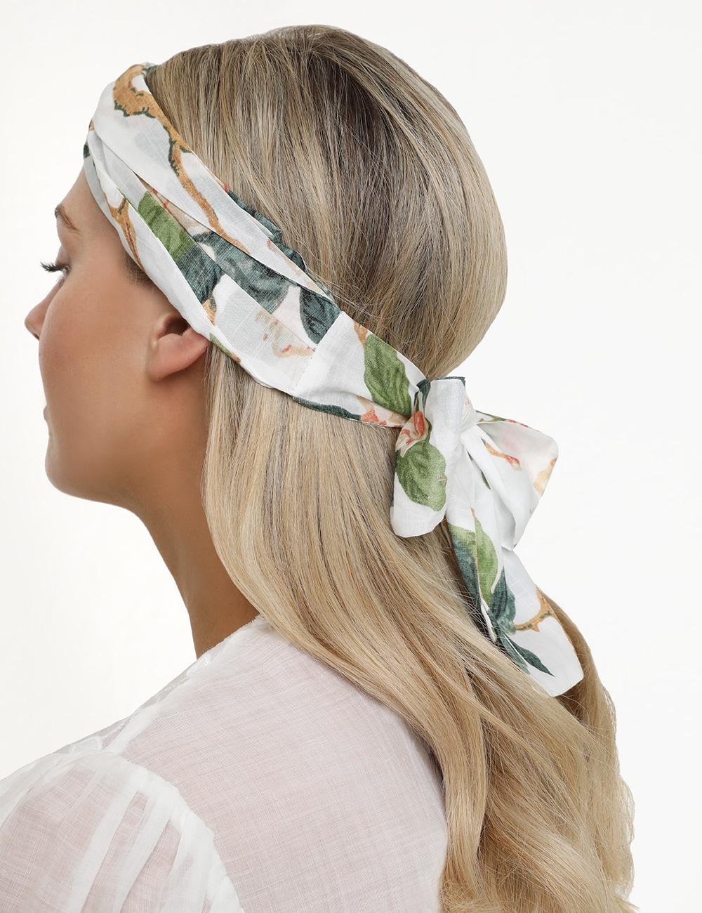 Printed Turban Headscarf
