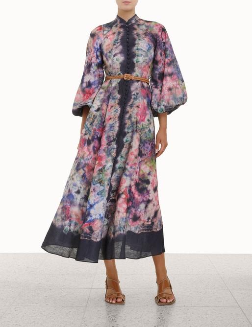 Tropicana Billow Long Dress
