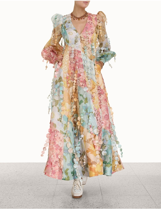Tempo Patch Gown