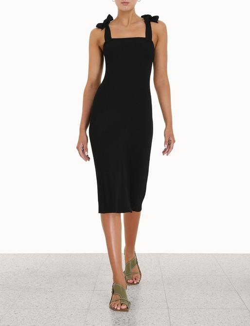Tropicana Bow Shoulder Dress