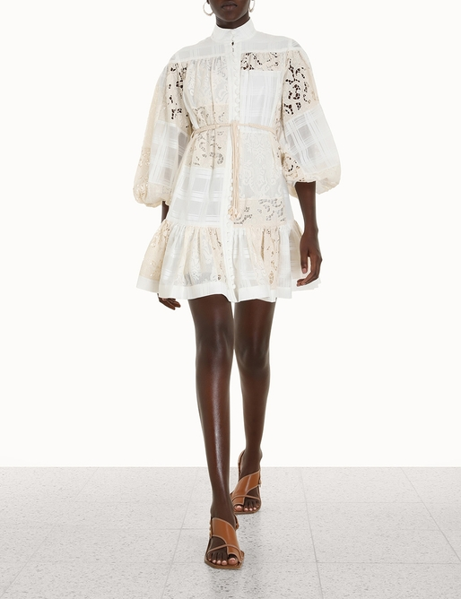 Andie Drop Waist Mini Dress