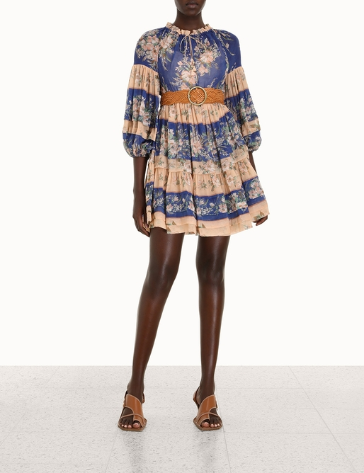 Moonshine Tuck Mini Dress
