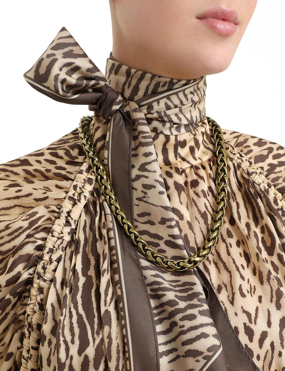 Tubular Chain Necklace