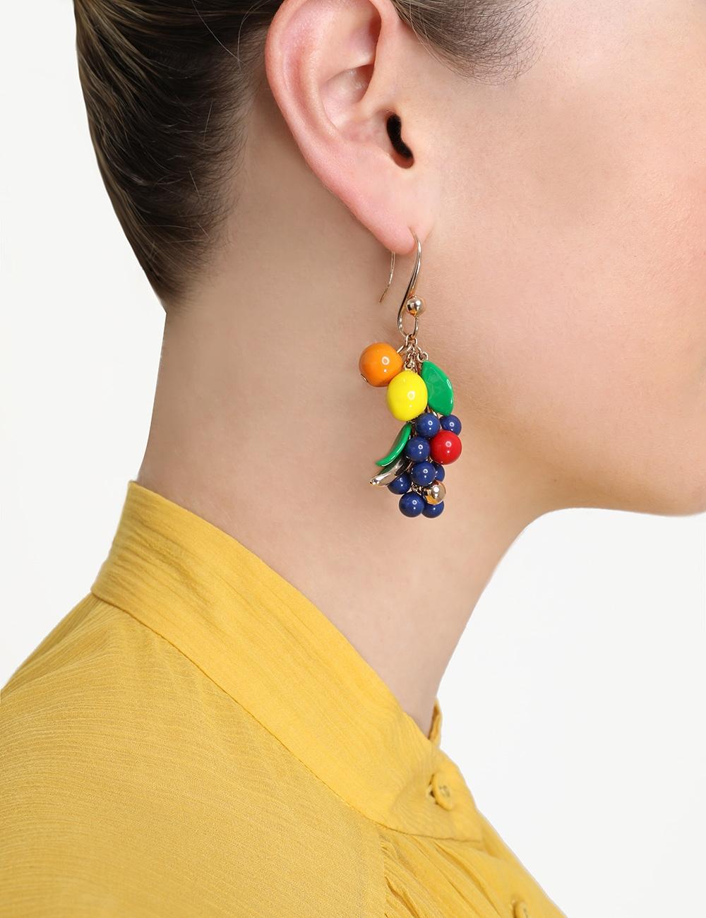Fruit Drop Earrings