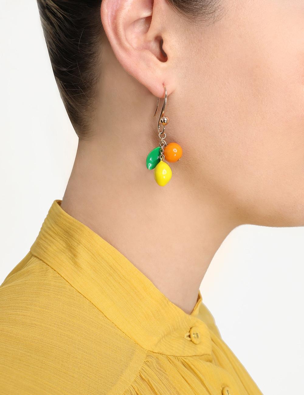 Mix Fruit Drop Earrings