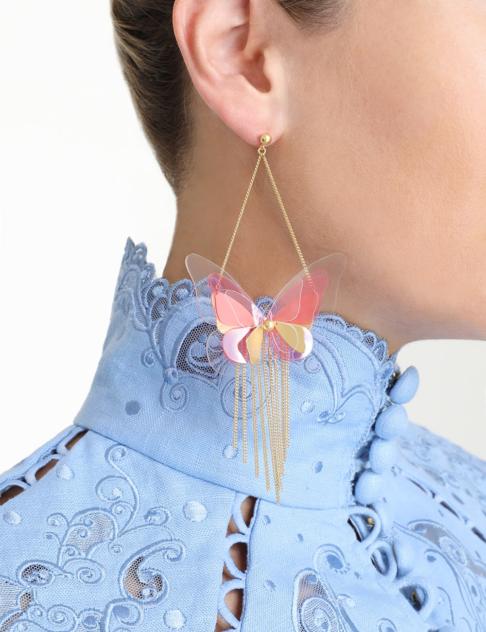 Butterfly Tassel Earring