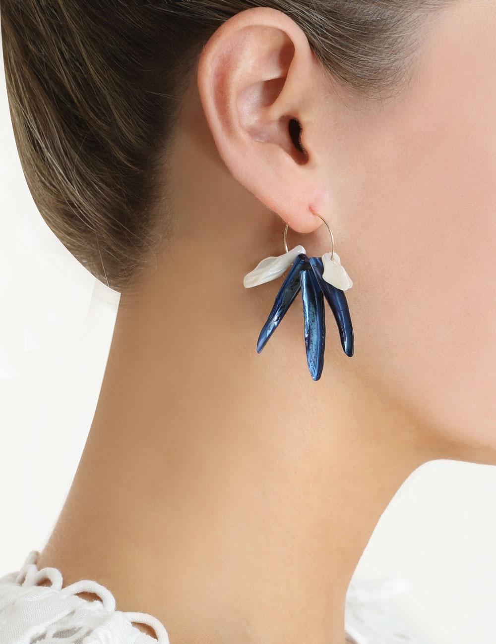 Aloha Cluster Earring