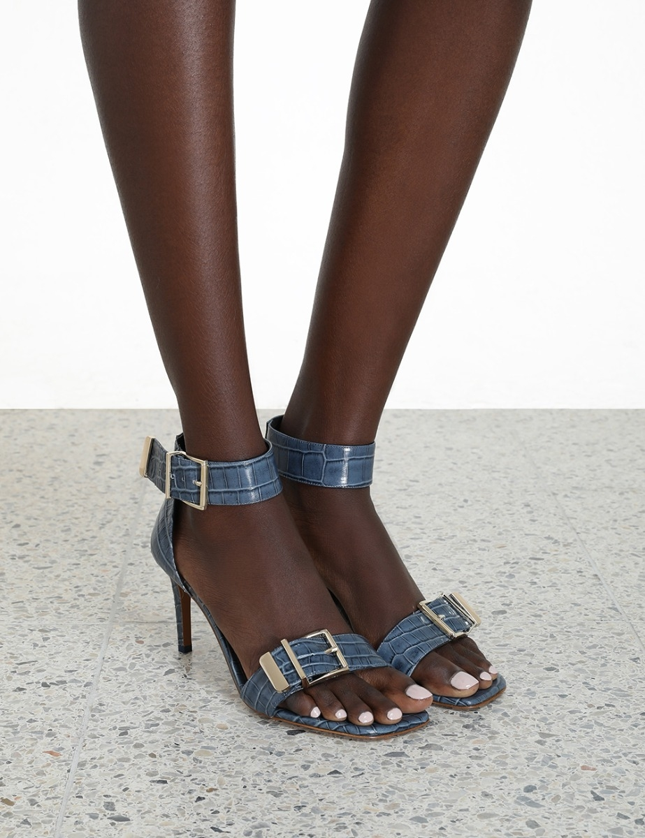 Buckle Two Strap Sandal