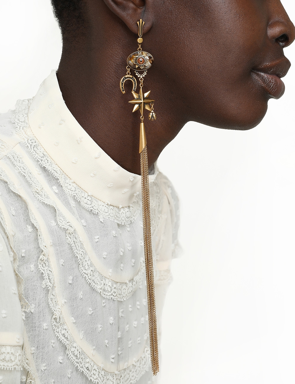 Lucky Charms Drop Earring
