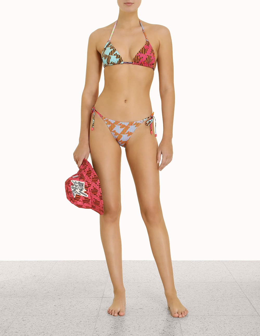 Spliced Mini Tri Bikini