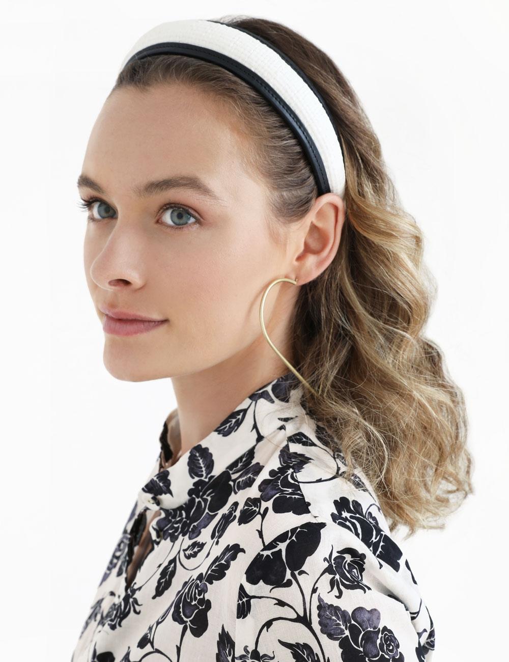 The Lovestruck Raffia Headband