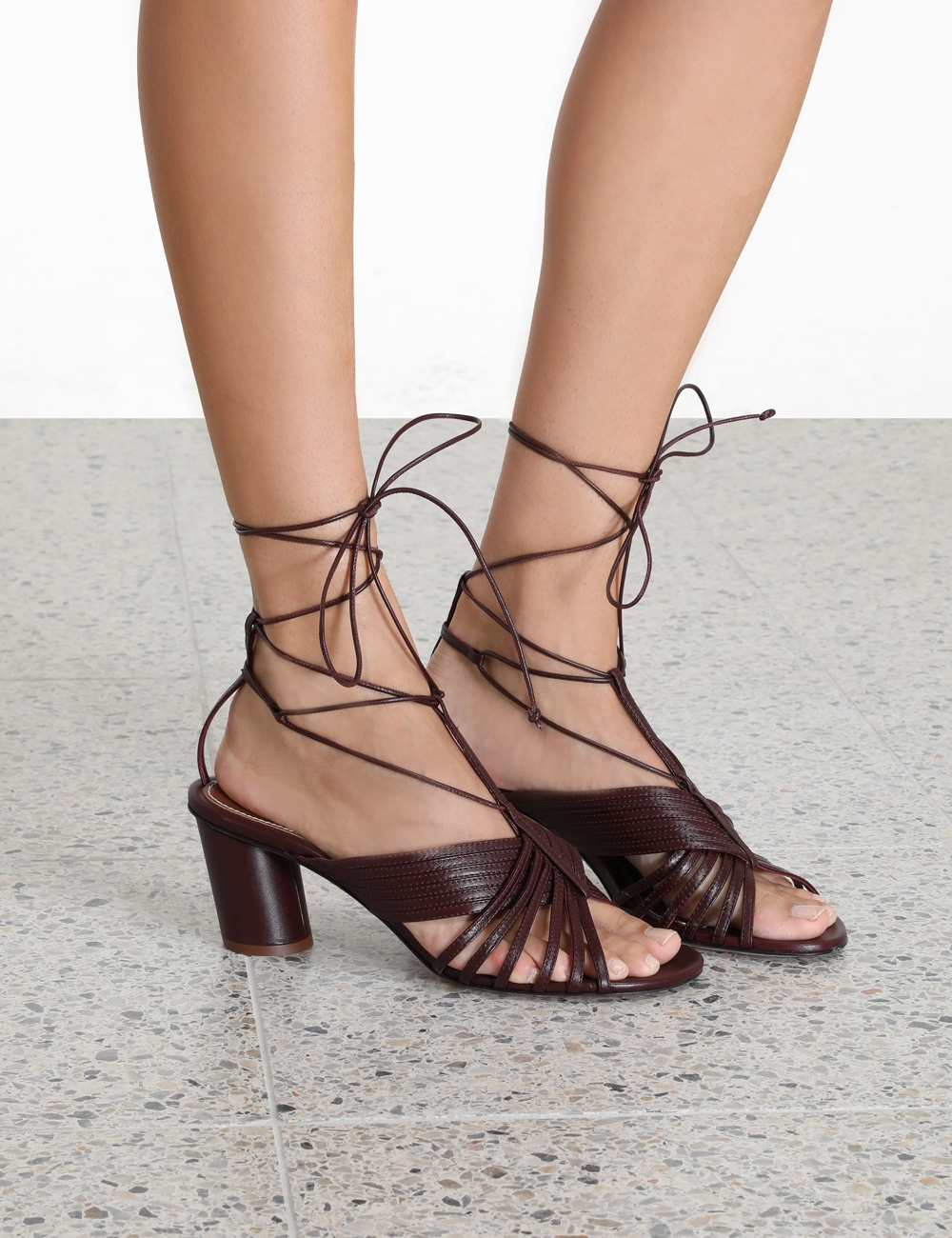 Cross Over Strappy Mule