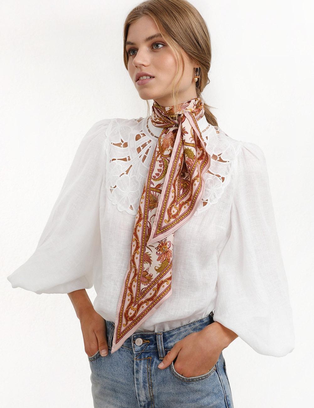 Silk Neck Scarf