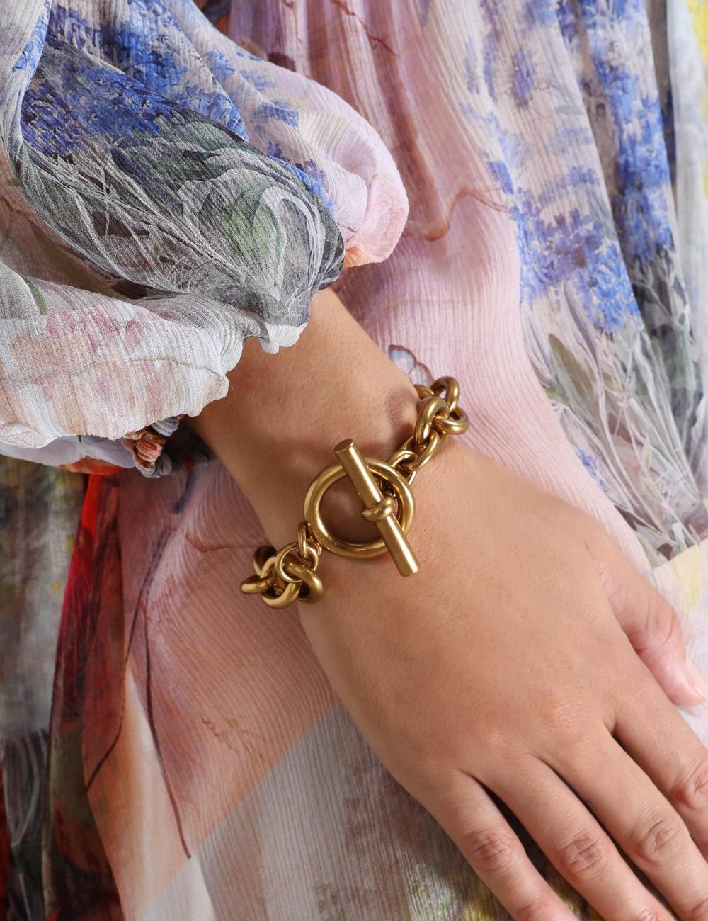 Chain Fob Bracelet