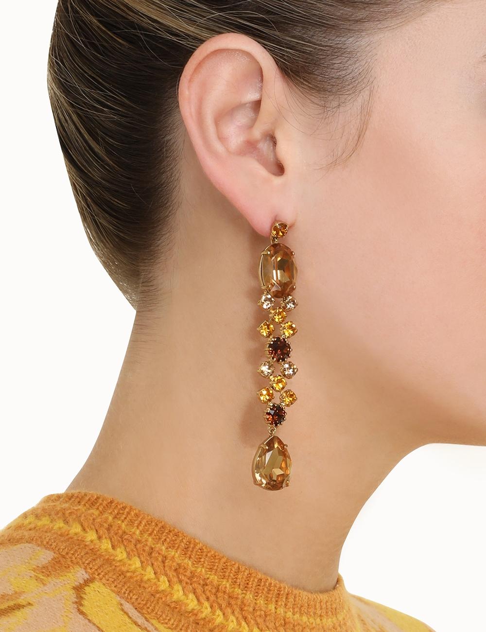 Crystal Statement Earrings