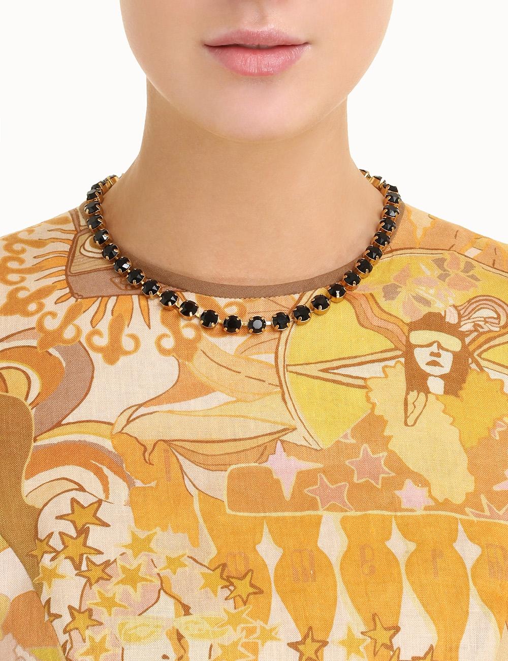 Crystal Tennis Necklace