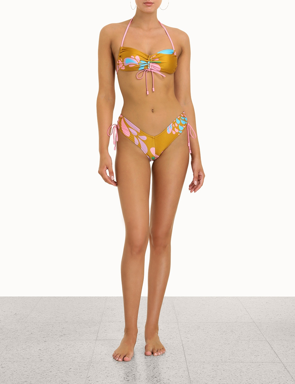 Teddy Ruched Side Bikini