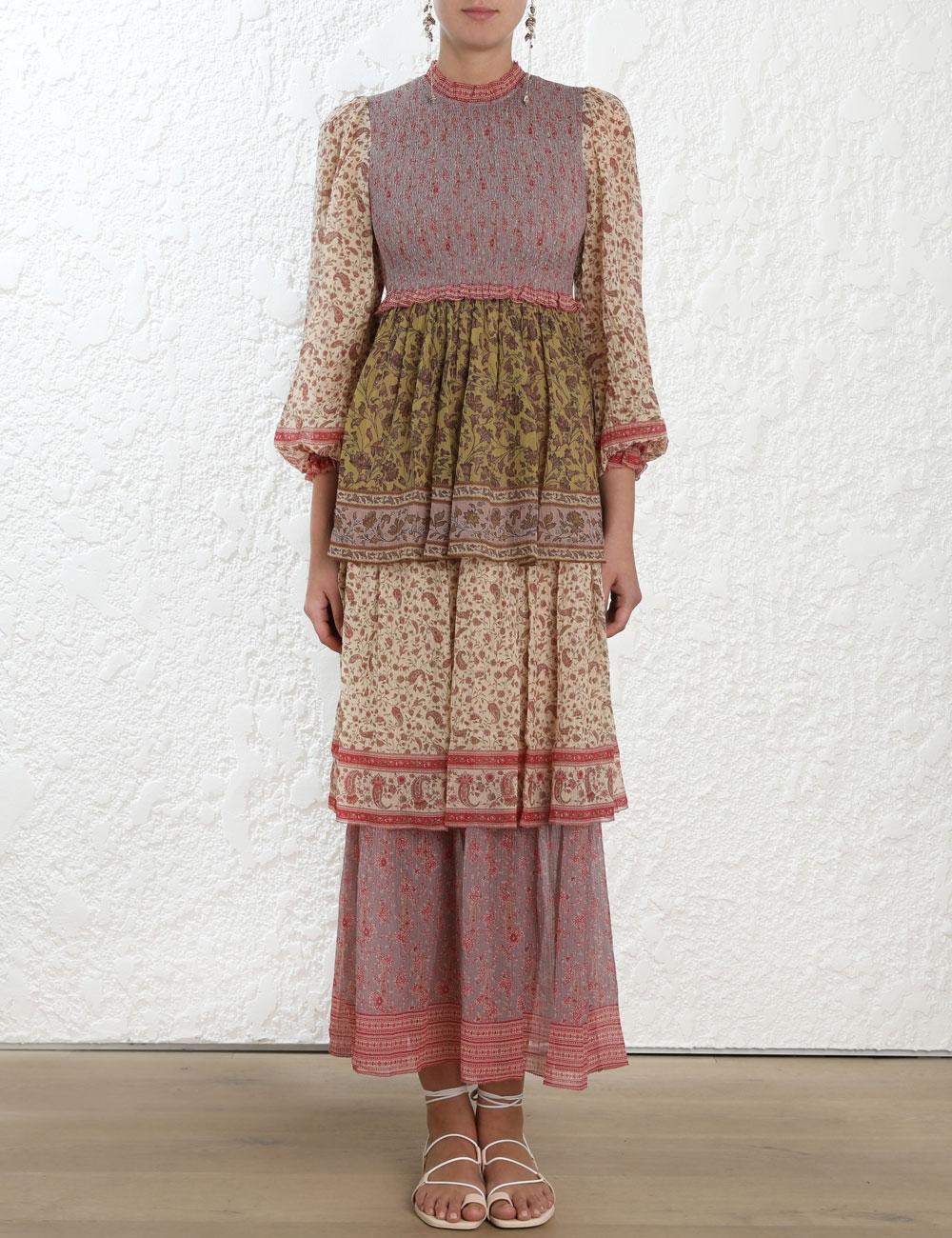 Juniper Tiered Sleeve Dress