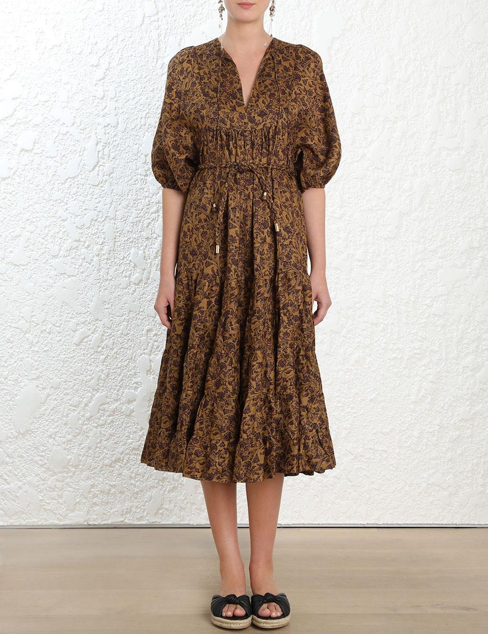 Juniper Long Tiered Dress