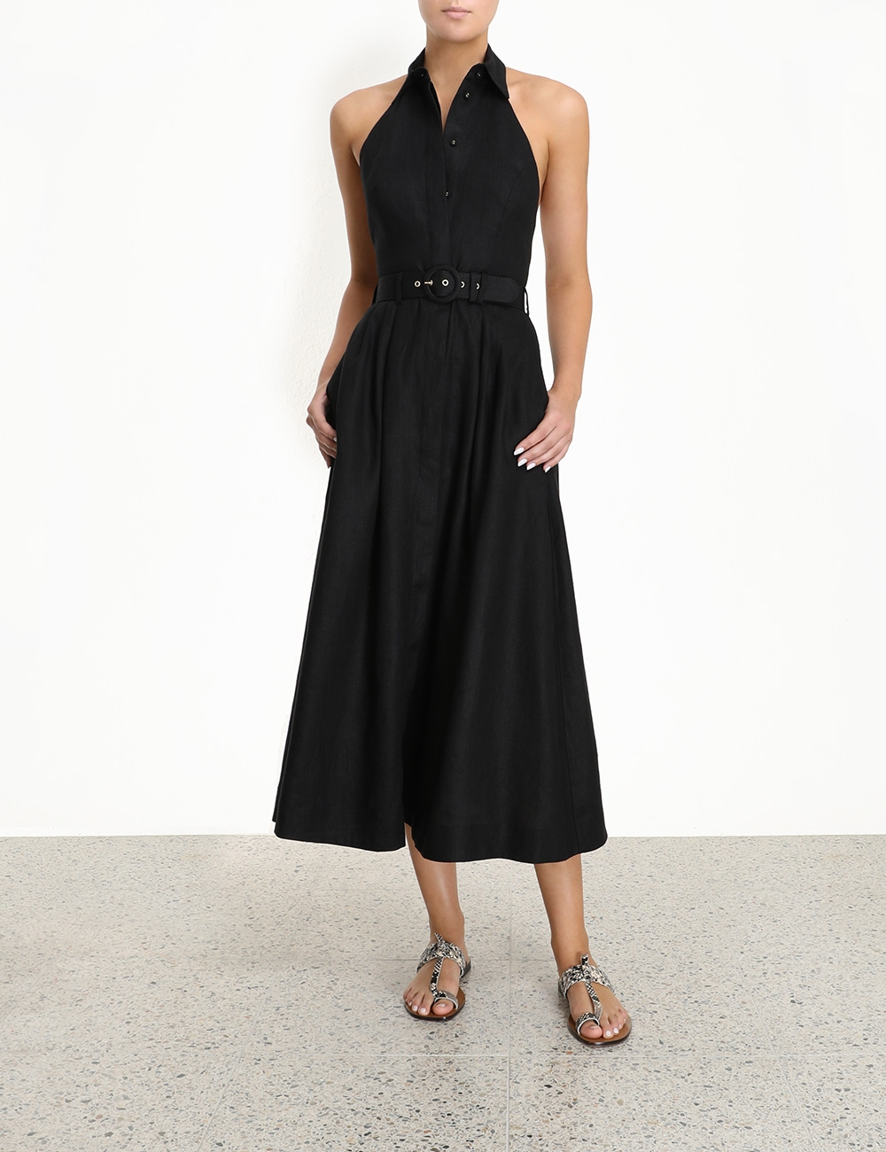 Bonita Halterneck Long Dress