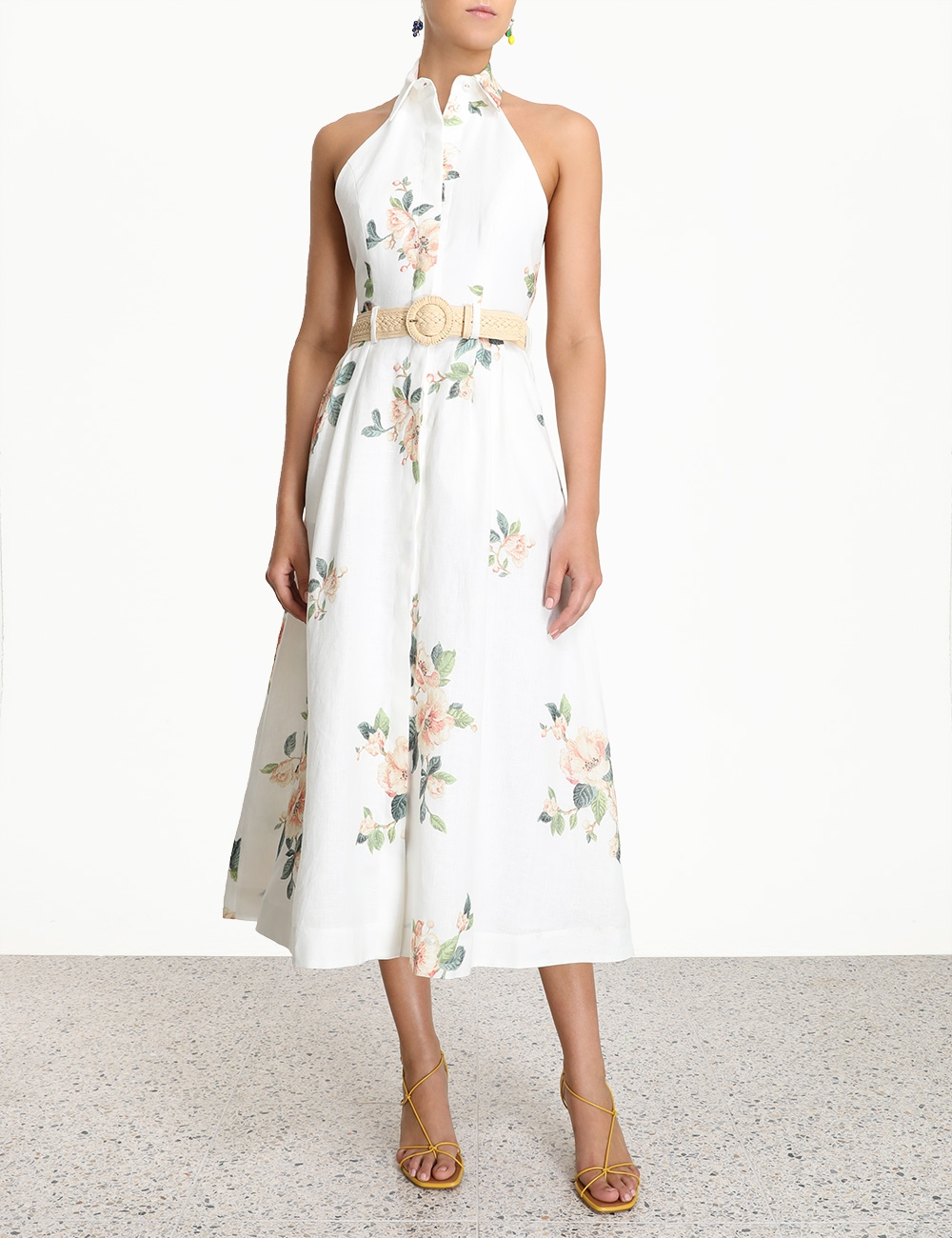 Kirra Halterneck Long Dress