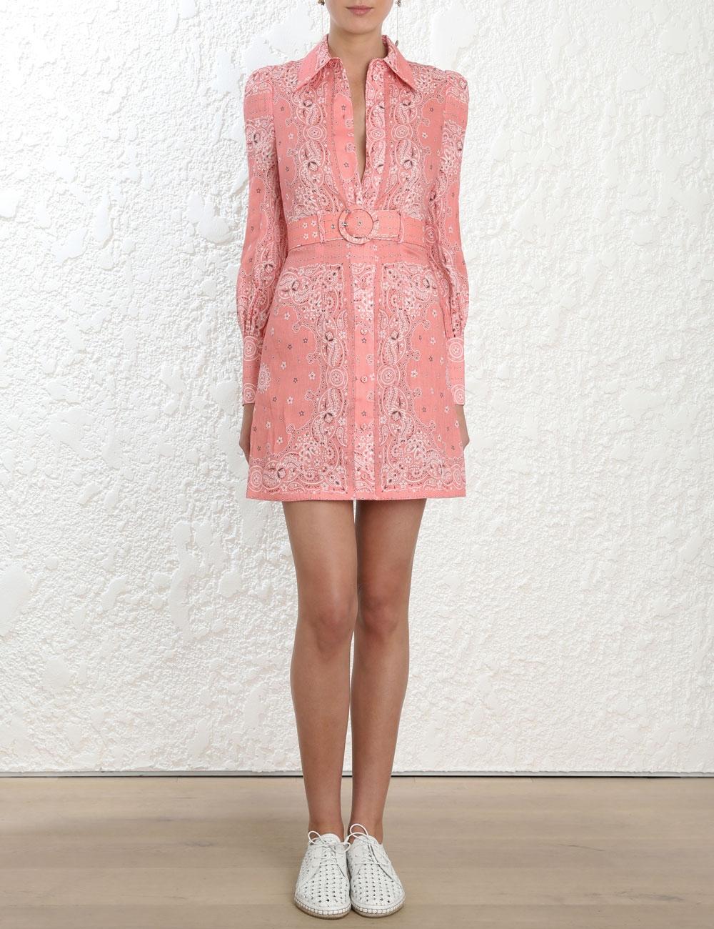 Heathers Bandana Shirt Dress