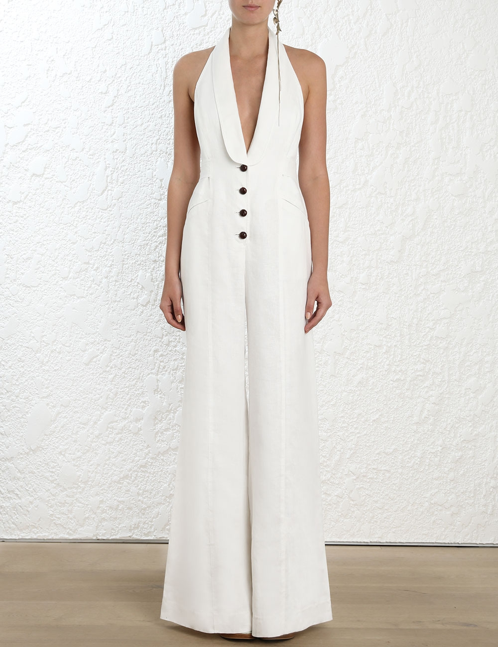 Corsage Tailored Jumpsuit