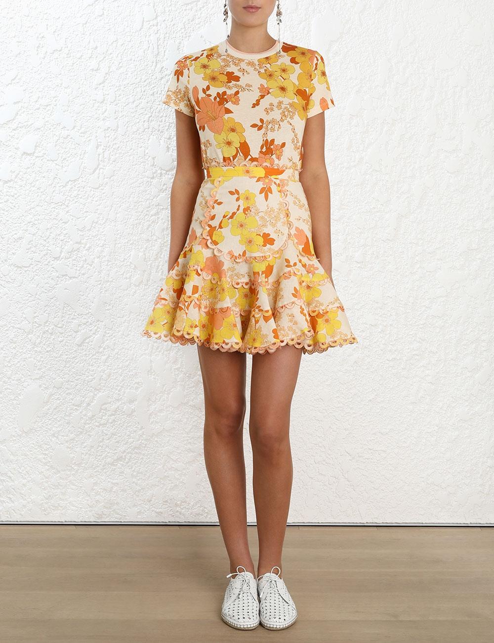 Primrose Flutter Skirt