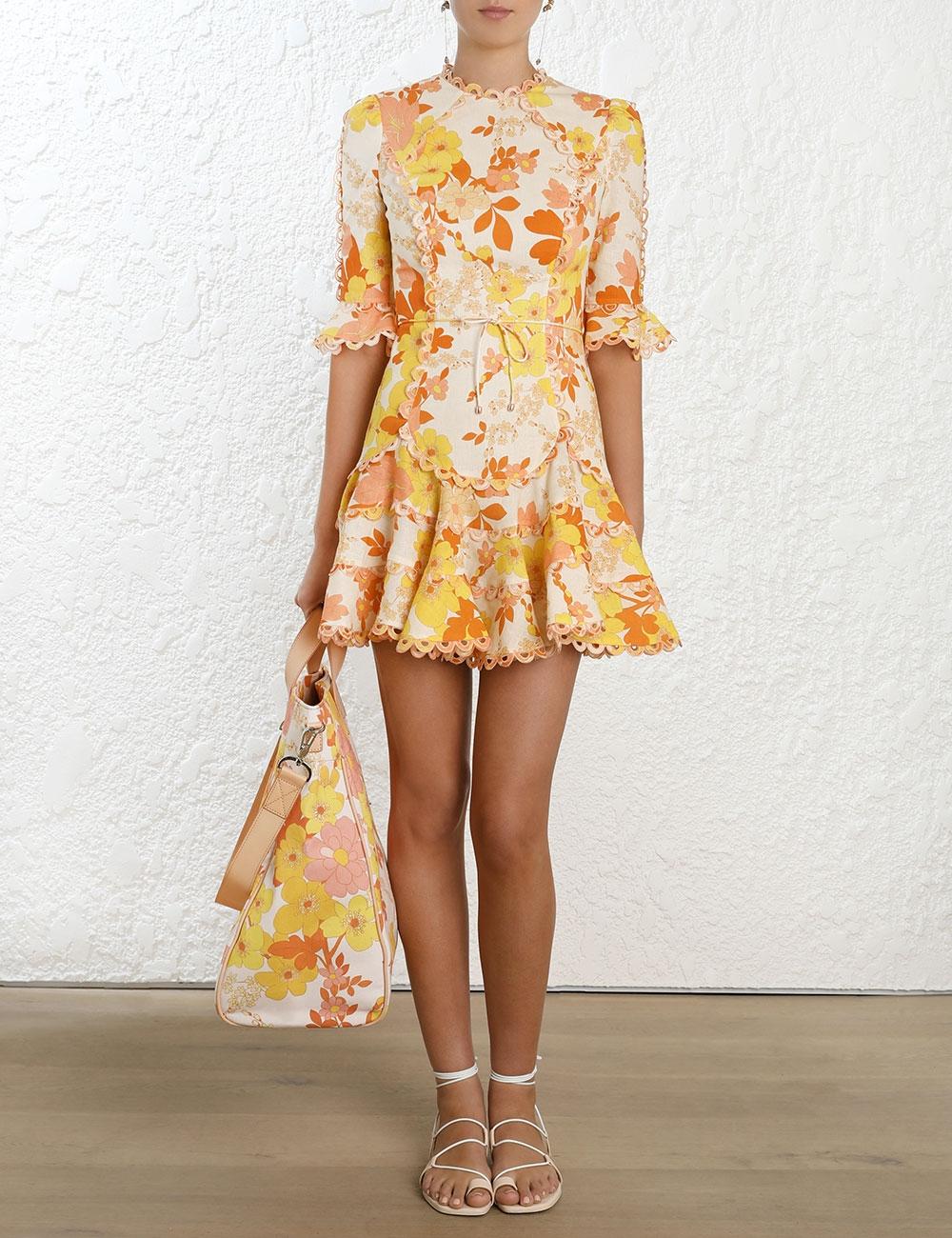 Primrose Flutter Dress