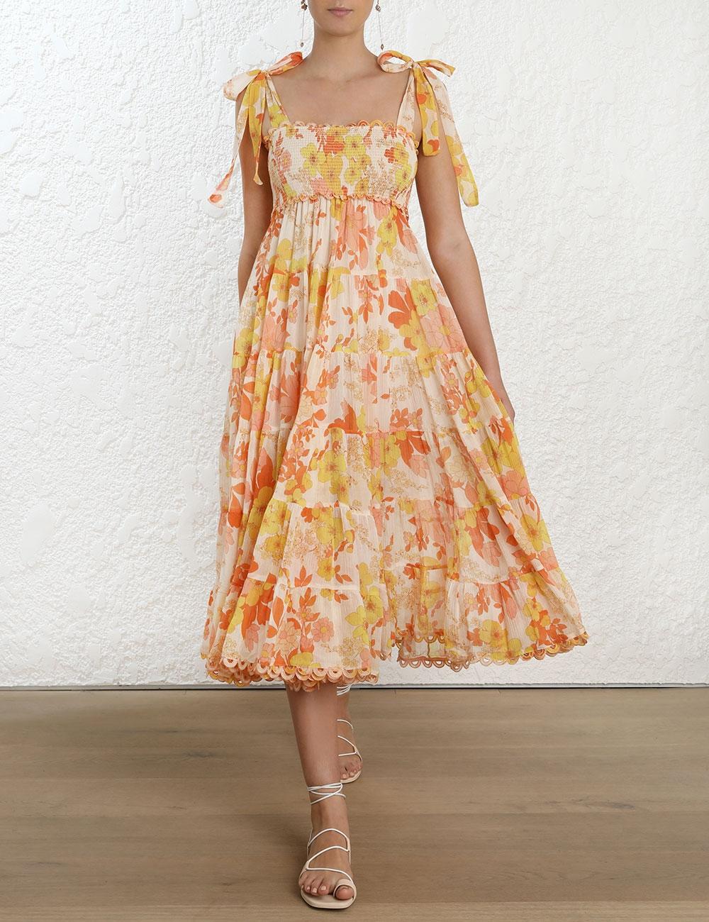 Primrose Crinkle Dress