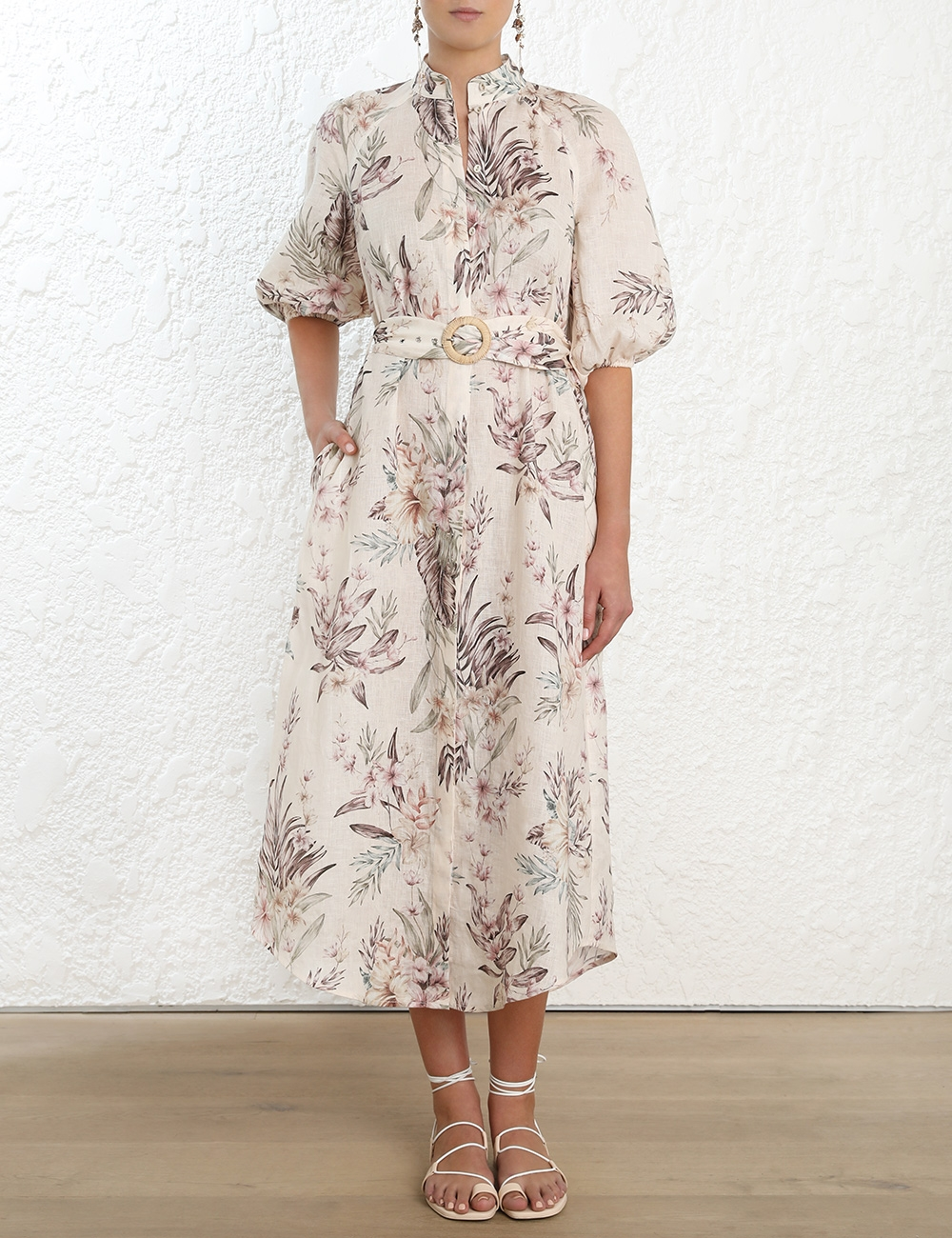 Wayfarer Long Shirt Dress