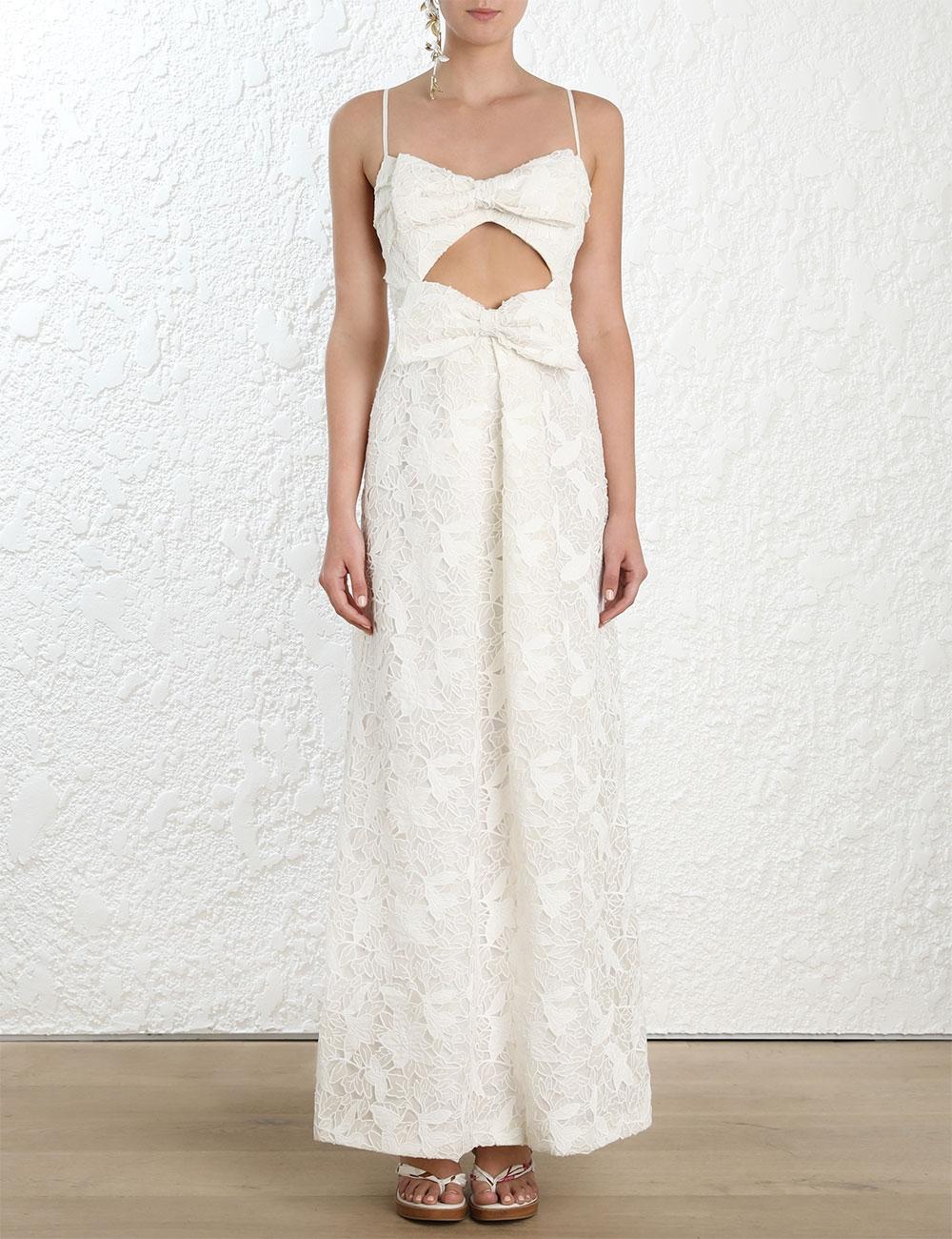 Corsage Bow Dress
