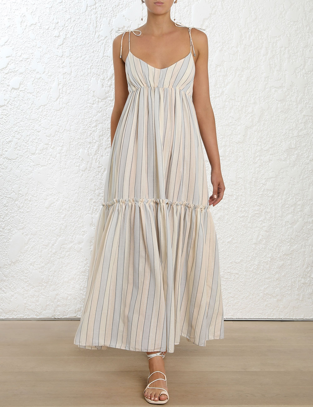 Bowie Tiered Long Dress