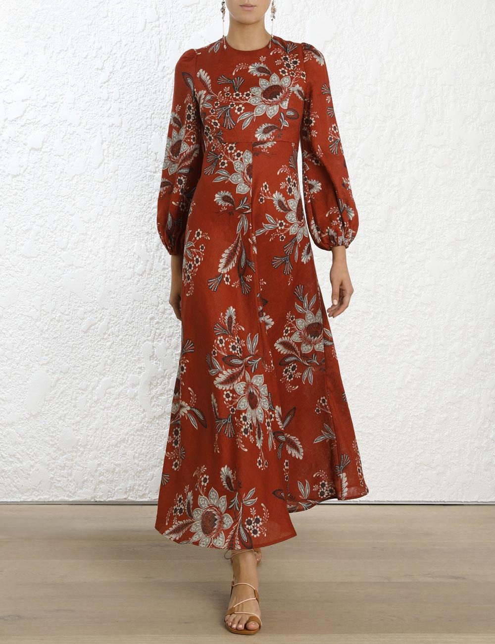 Juno High Neck Dress