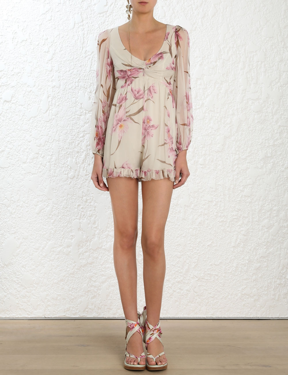 Corsage Knot Playsuit
