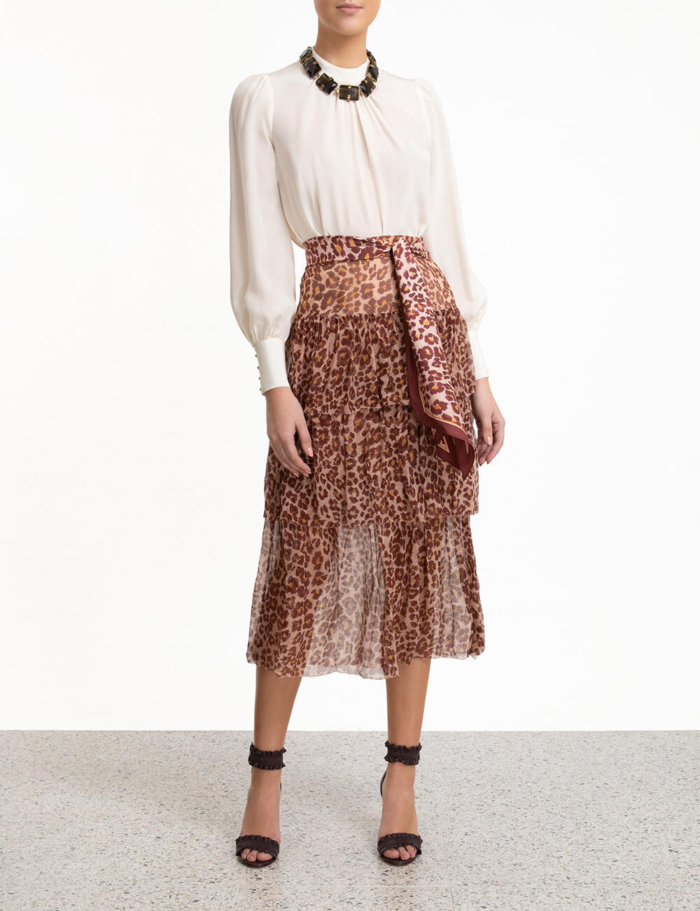Resistance Tiered Skirt