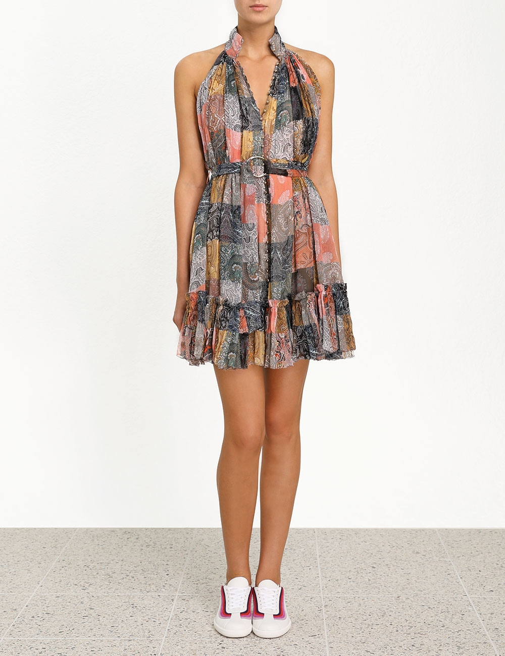 Ninety-Six Smock Short Dress
