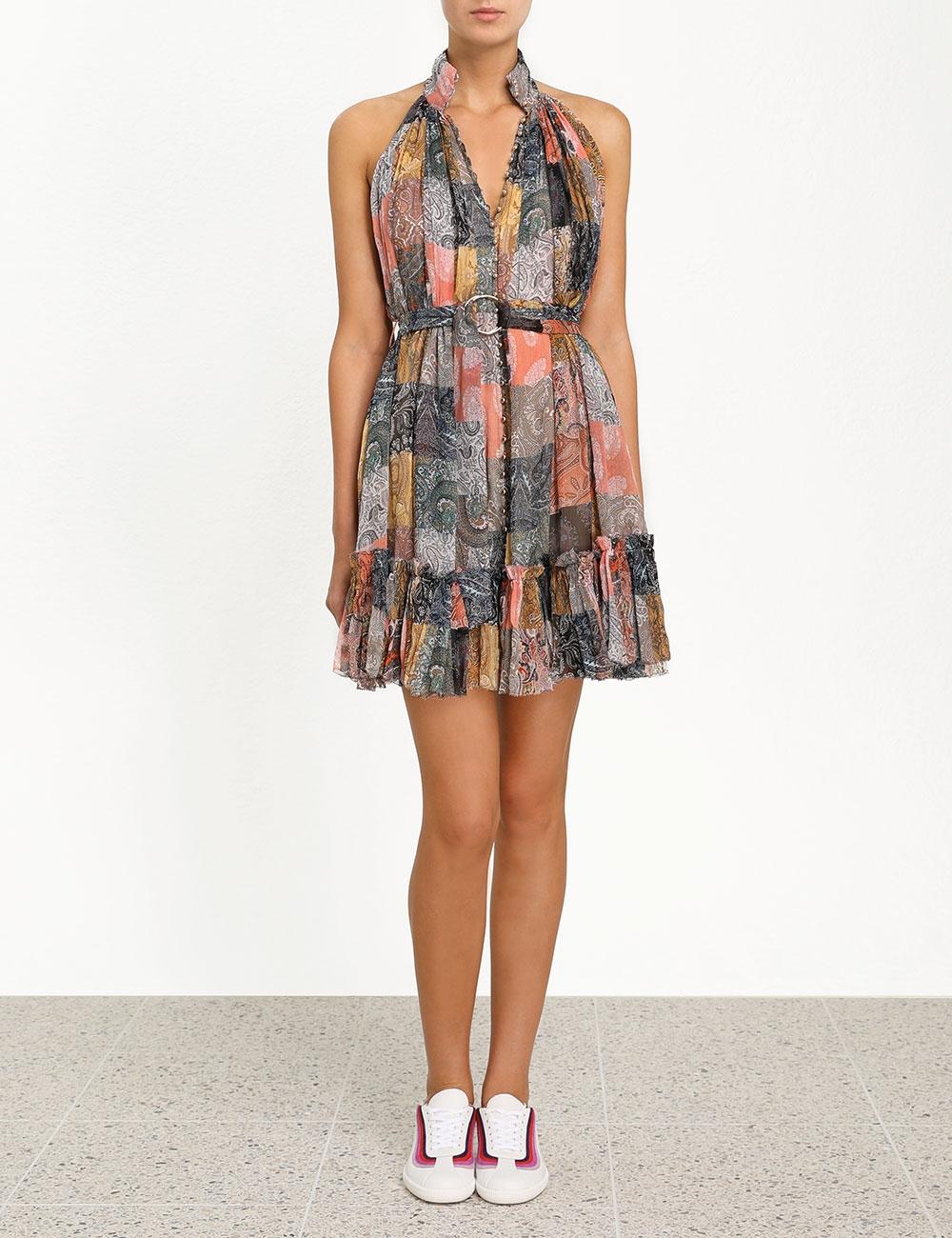Ninety-Six Smock Short Dress