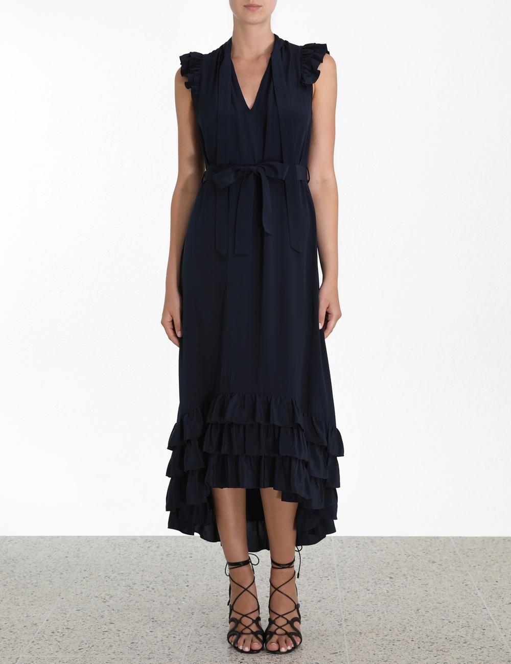 Flutter Smock Dress