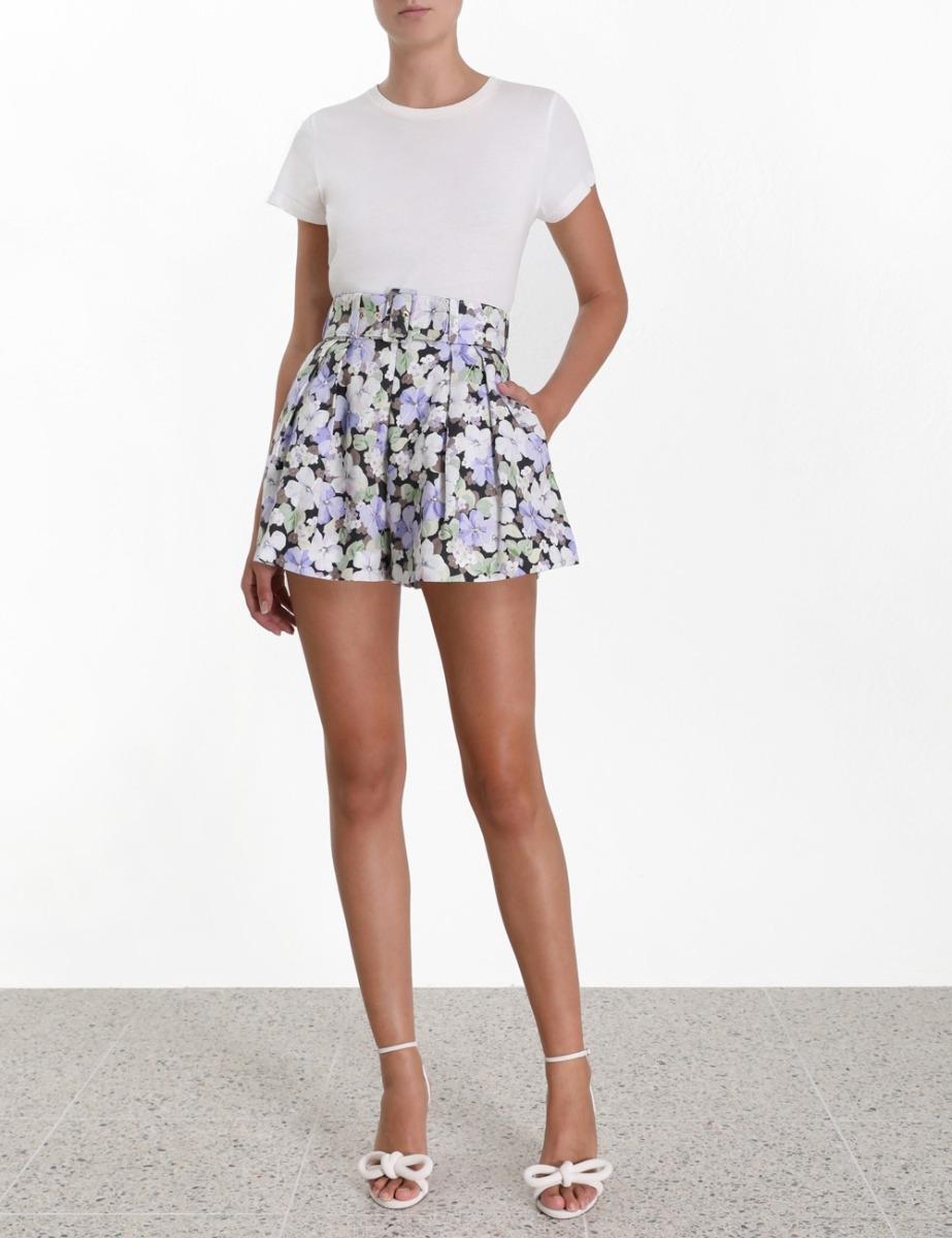 Ninety-Six Flared Shorts