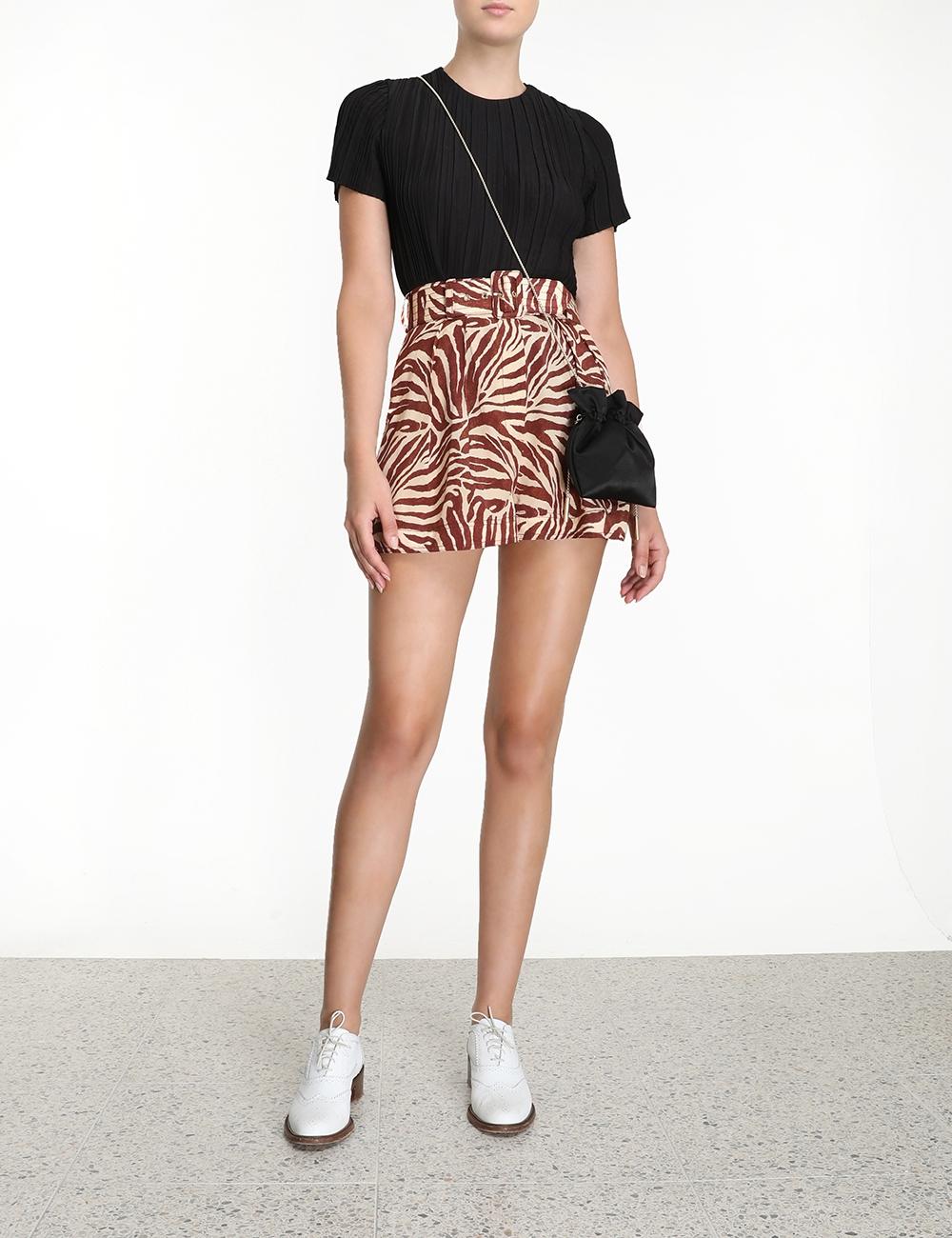 Silk Utility Shorts