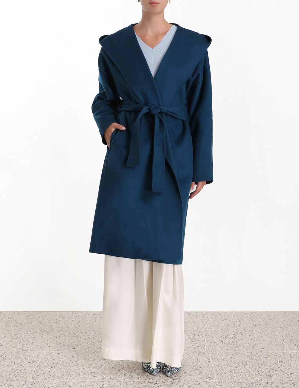 Moncur Wrap Coat