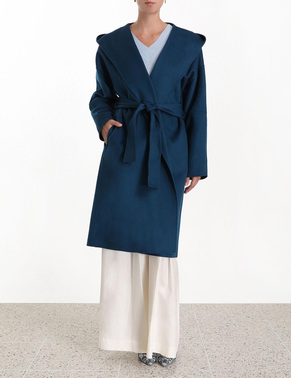 Moncur Wrap Coat