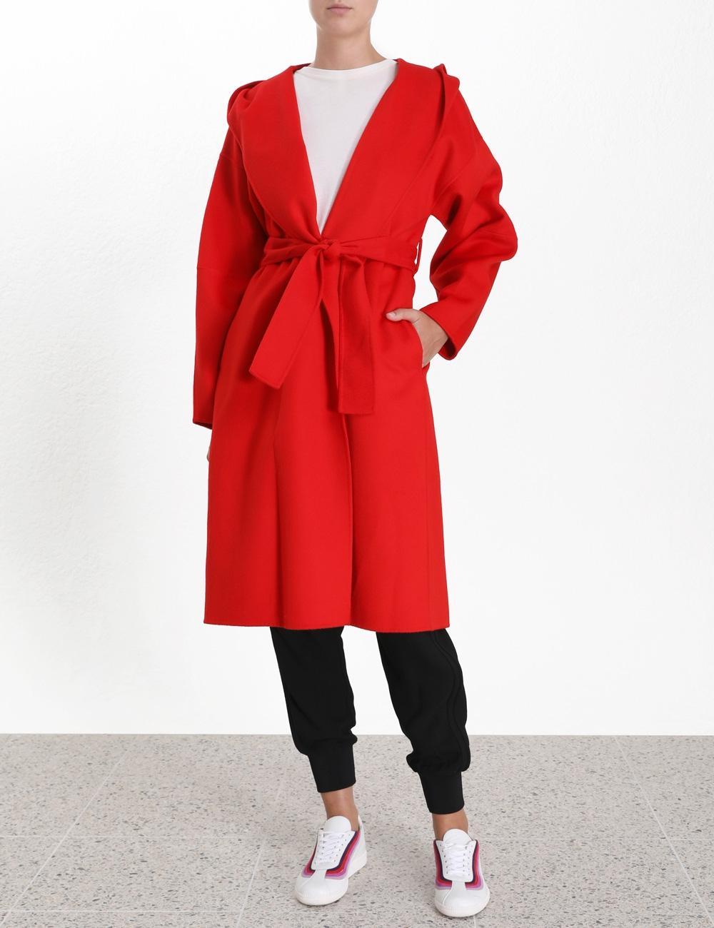 Ninety-Six Wrap Coat