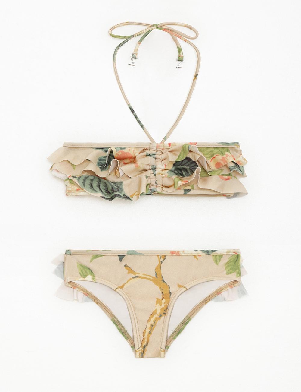 Kirra Frill Bandeau Bikini