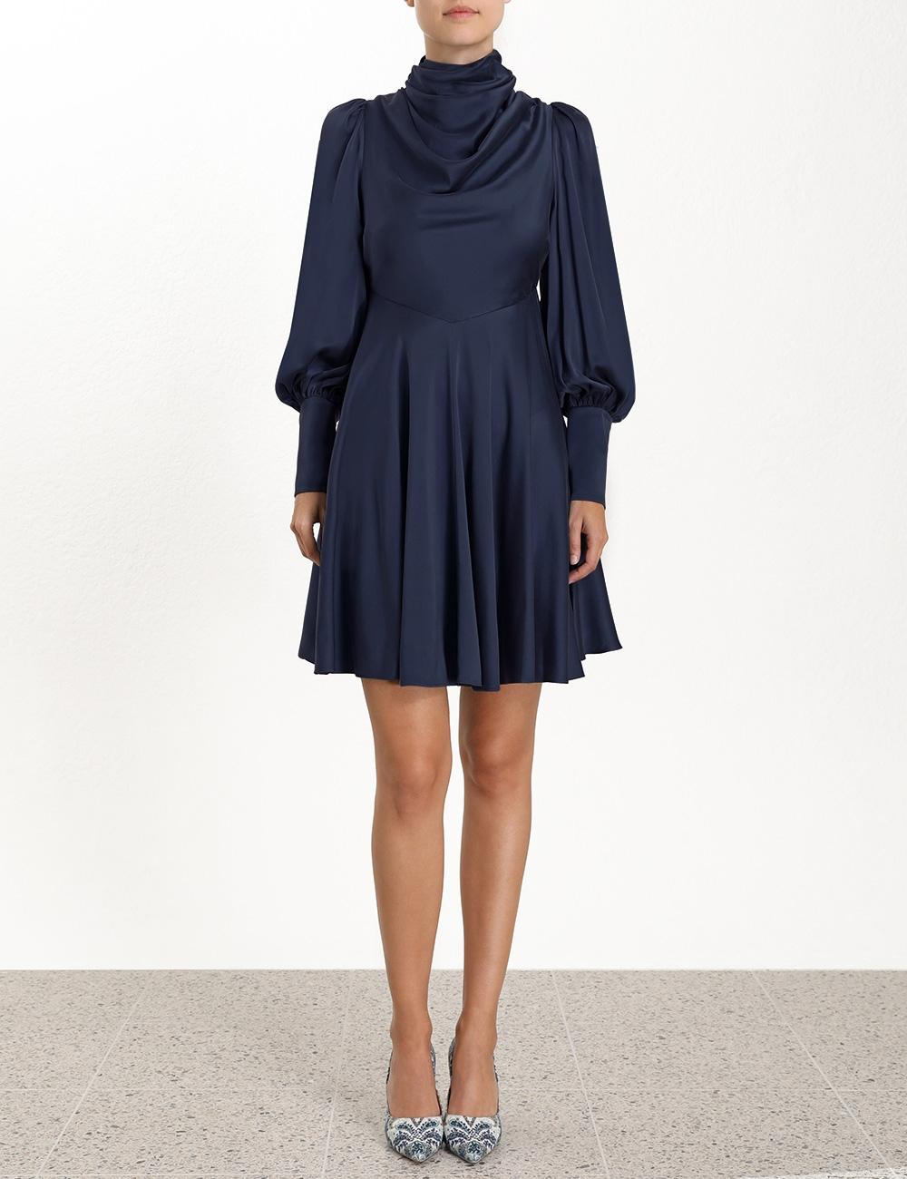 Cowl Short Dress