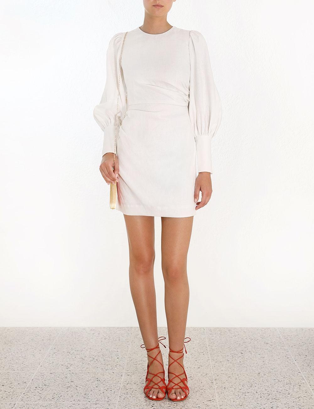Drape Mini Dress
