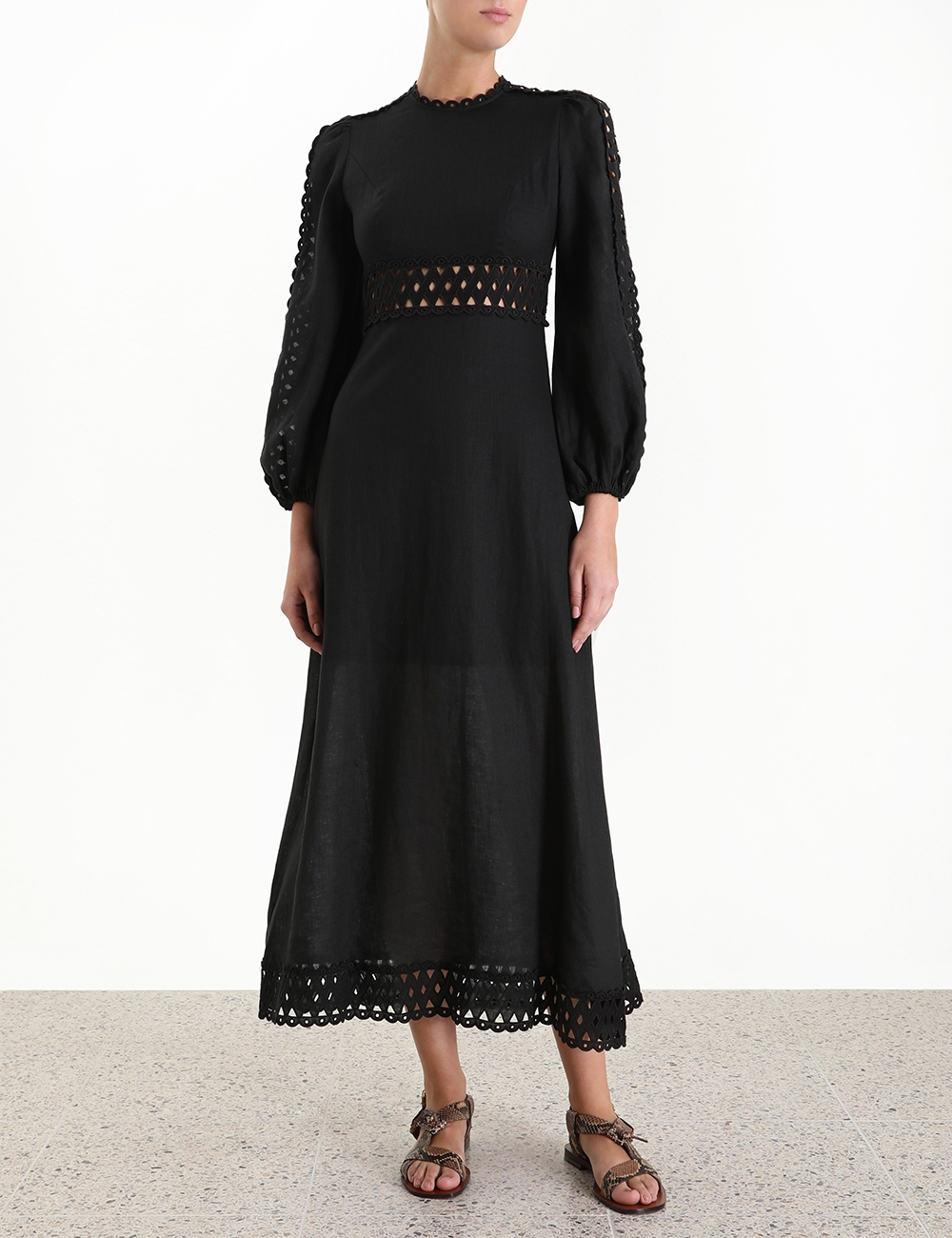 Verity Woven Insert Dress