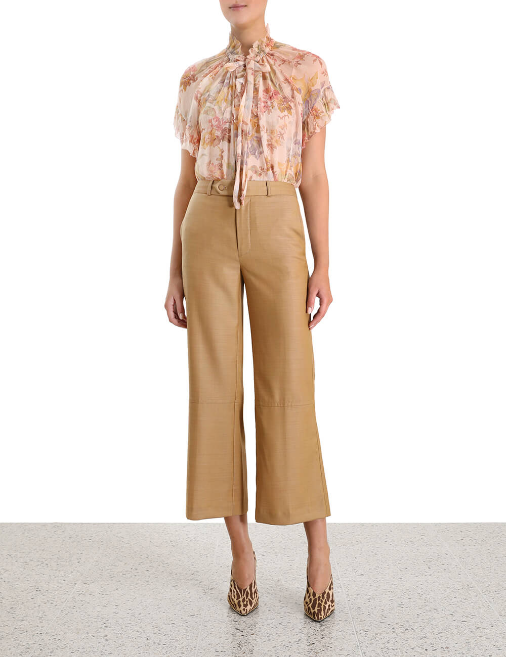 Espionage Crop Trouser
