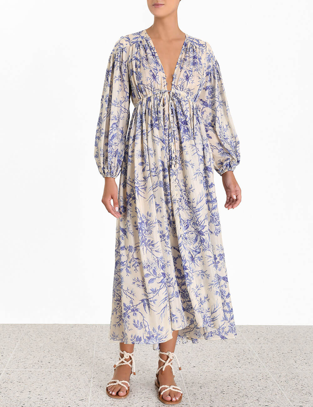 Verity Gathered Yoke Dress